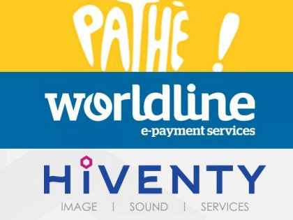 Partnership between Pathé, Atos (Worldline) and Hiventy