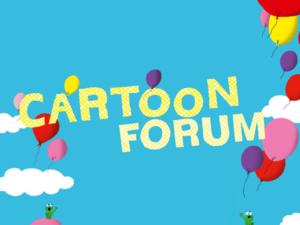En route pour le Cartoon Forum !